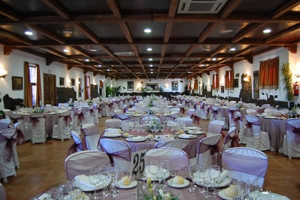 Hotel Usias - Bodas interior
